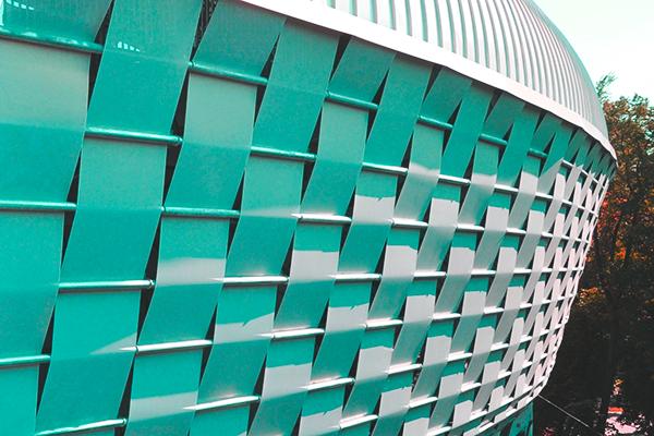 Wowen steel facade